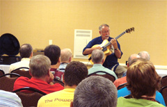 Teaching a Class at Chet Atkins Conference