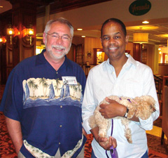 With Earl Klugh